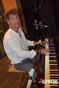 Sebastian Frisch am Piano